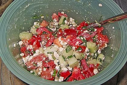 Hüttenkäse - Salat 55
