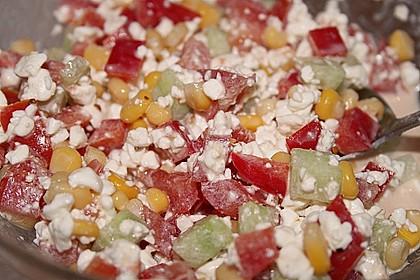 Hüttenkäse - Salat 21