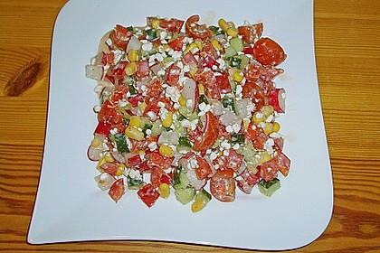 Hüttenkäse - Salat 10