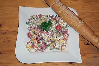 Hüttenkäse - Salat 13