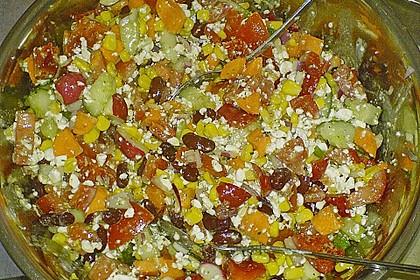 Hüttenkäse - Salat 62