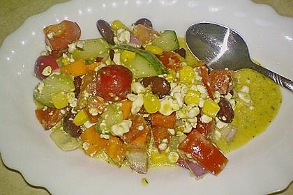 Hüttenkäse - Salat 40
