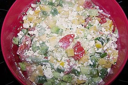 Hüttenkäse - Salat 66