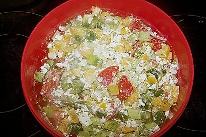 Hüttenkäse - Salat 60