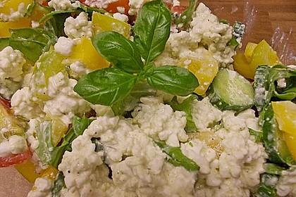 Hüttenkäse - Salat 52
