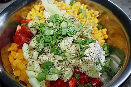 Hüttenkäse - Salat 68