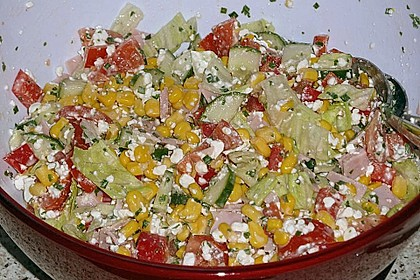 Hüttenkäse - Salat 23