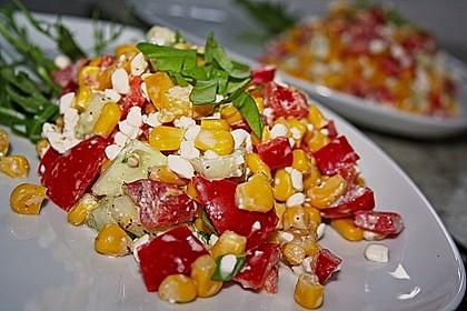 Hüttenkäse - Salat 4