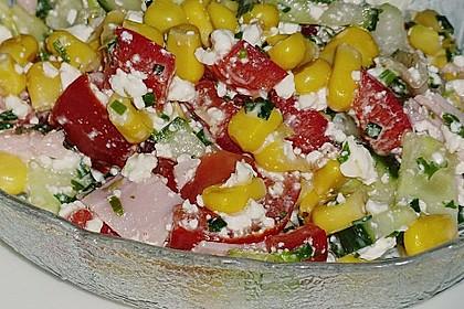 Hüttenkäse - Salat 33
