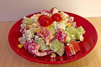 Hüttenkäse - Salat 12