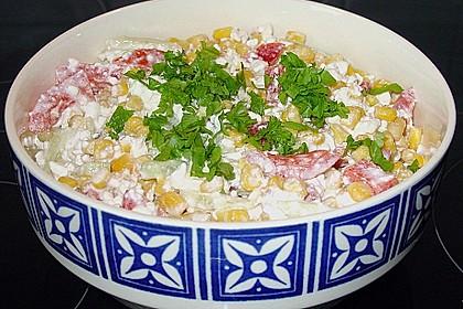 Hüttenkäse - Salat 38