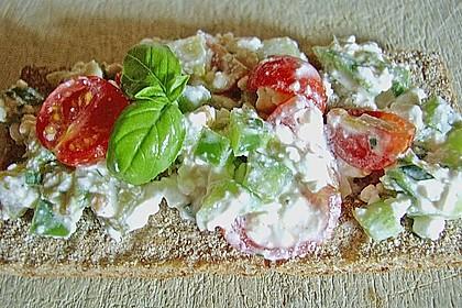 Hüttenkäse - Salat 50