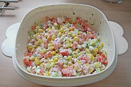 Hüttenkäse - Salat 64