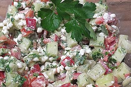 Hüttenkäse - Salat 11