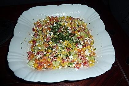 Hüttenkäse - Salat 16