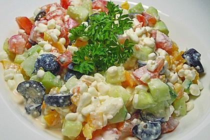 Hüttenkäse - Salat 1