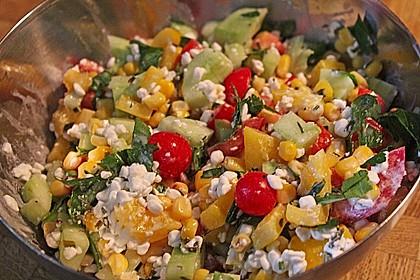 Hüttenkäse - Salat 8