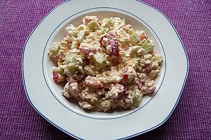 Hüttenkäse - Salat 26