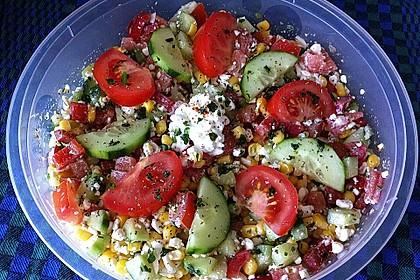 Hüttenkäse - Salat 3