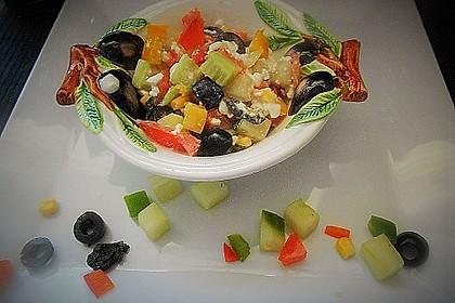 Hüttenkäse - Salat 5