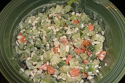 Hüttenkäse - Salat 15