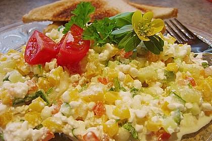 Hüttenkäse - Salat 28