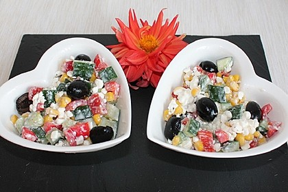 Hüttenkäse - Salat 9