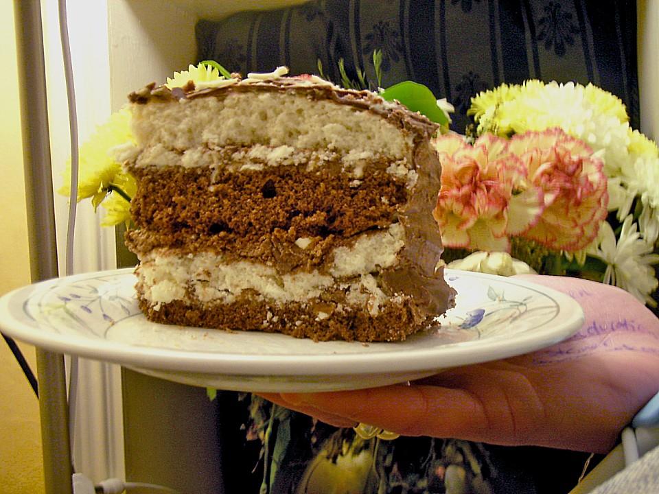 Kuchen mit lion