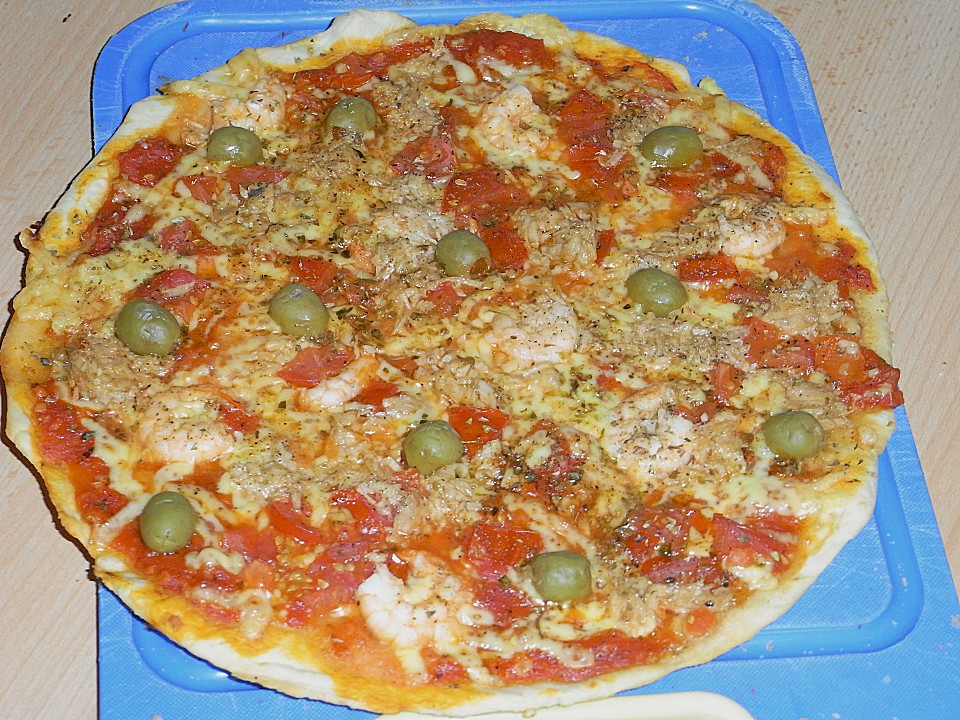 grundrezept pizzateig mit joghurt — rezepte suchen