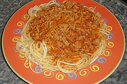 Spagetti Bolognese, kein Instant 1