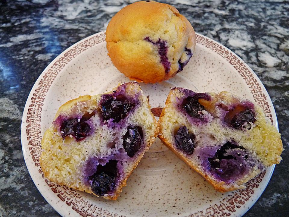 heidelbeer joghurt muffins rezept mit bild von lun1. Black Bedroom Furniture Sets. Home Design Ideas
