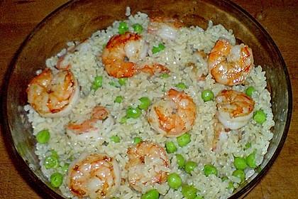 Reissalat mit Shrimps 0