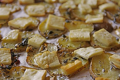 Thymian - Kartoffeln im Backofen 9