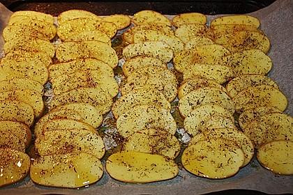 Thymian - Kartoffeln im Backofen 15