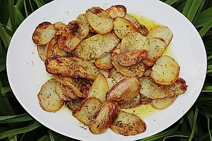 Thymian - Kartoffeln im Backofen 2