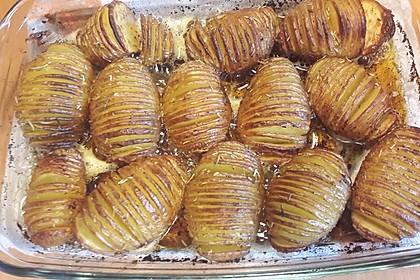 Schwedische Fächerkartoffeln 13