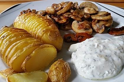Schwedische Fächerkartoffeln 12