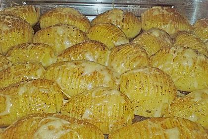 Schwedische Fächerkartoffeln 5