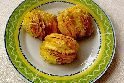 Schwedische Fächerkartoffeln 3