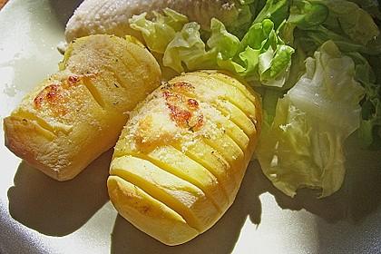 Schwedische Fächerkartoffeln 6