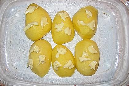 Schwedische Fächerkartoffeln 9