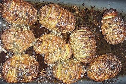 Schwedische Fächerkartoffeln 11