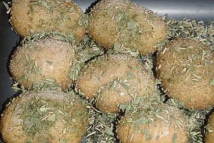 Schwedische Fächerkartoffeln 16