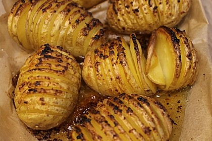 Schwedische Fächerkartoffeln 10