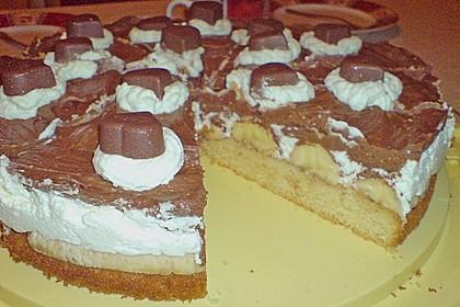 Milka - Herzen - Torte 6