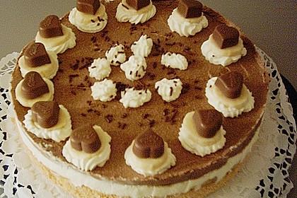 Milka - Herzen - Torte 30