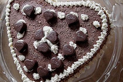 Milka - Herzen - Torte 18