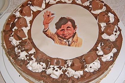 Milka - Herzen - Torte 17