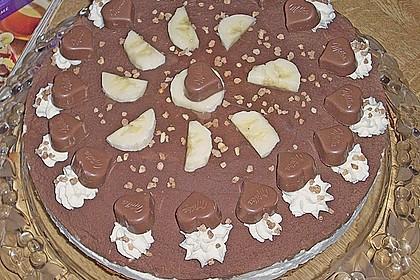 Milka - Herzen - Torte 33