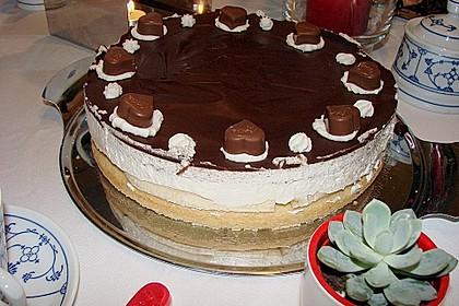 Milka - Herzen - Torte 12